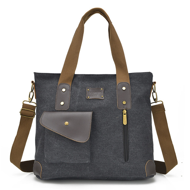 hot sale Multi-pocket high quality Retro messenger bag shoulder bag for <strong>women</strong>