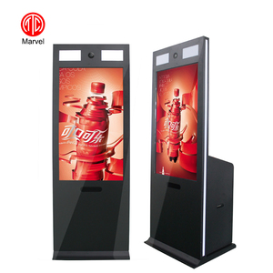 China supplier Best price Floor Standing Multitouch touch screen Camera photo booth for Shopping mall and Restaurant