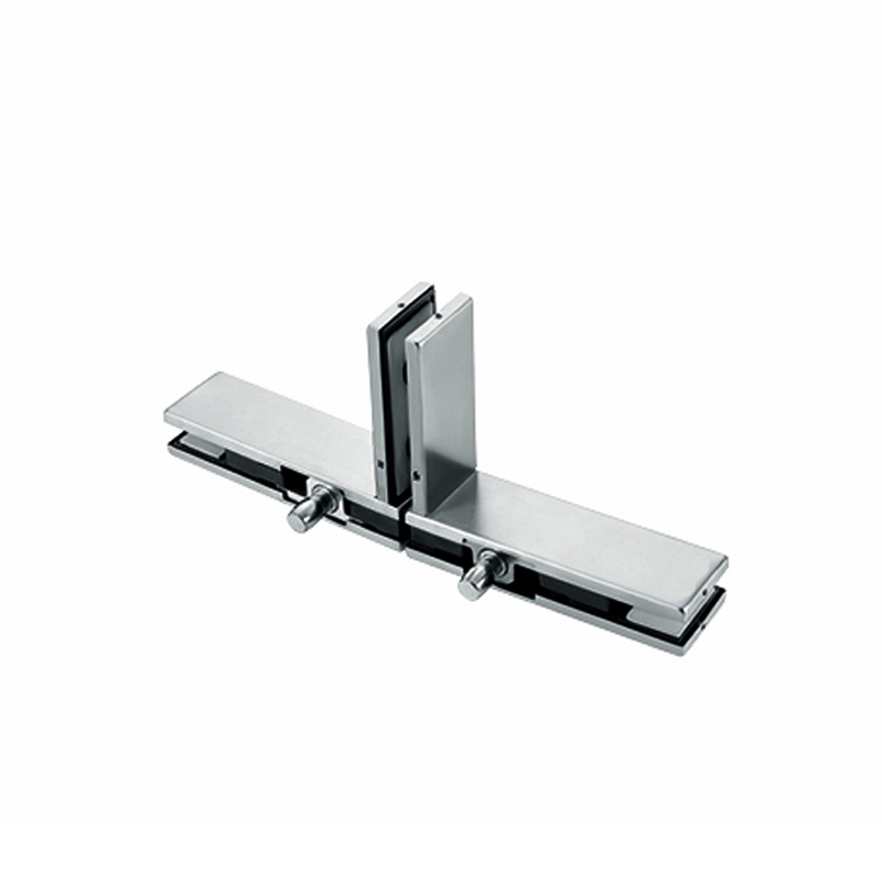 T shaped glass door patch glass holding clamp of frameless glass accessories