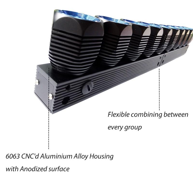 Newest design in America DIY 4x4 led light bar, Modular LED bull bar ...