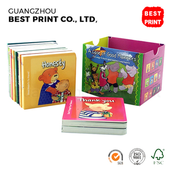 Printing Children Board Cardboard Coloring Book Children Publishers ...