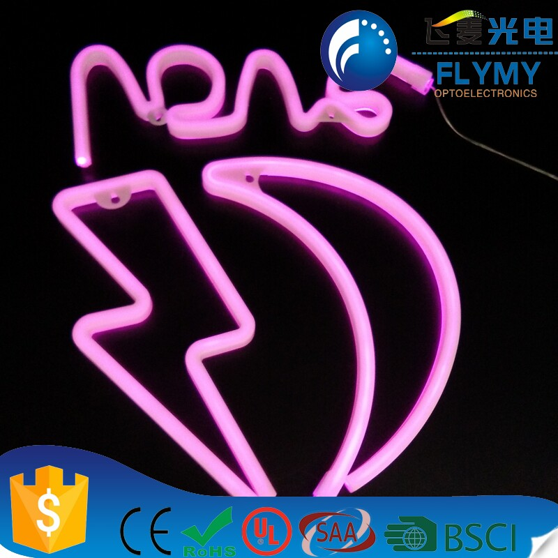 Hot Sale Flamingo Neon Desktop Light Sign Neon Lamp