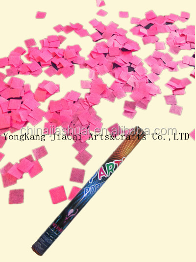 confetti effect machine/string confetti shooter/double nozzle spray gun