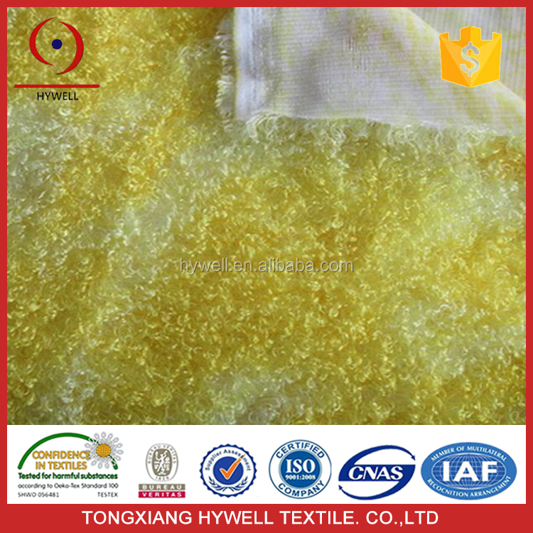 china supplier wholesale price 100% polyester printed embossed PV plush fabric