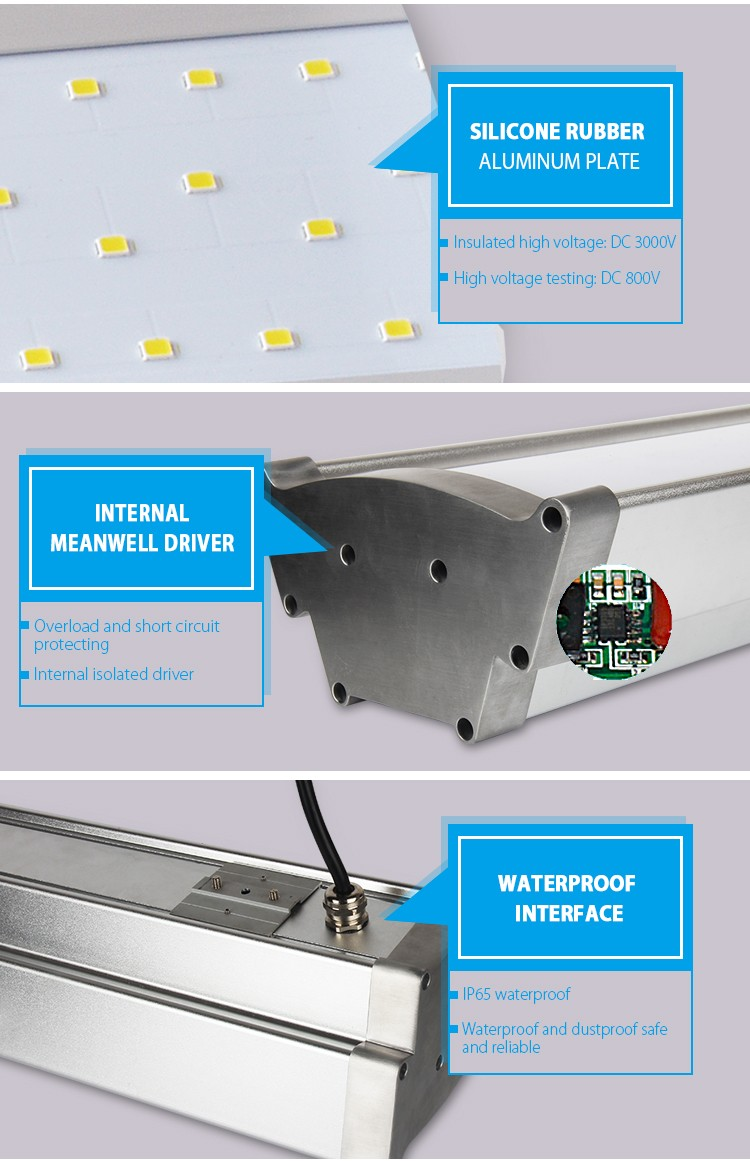 Architecture light led high bay lights 150w for train station