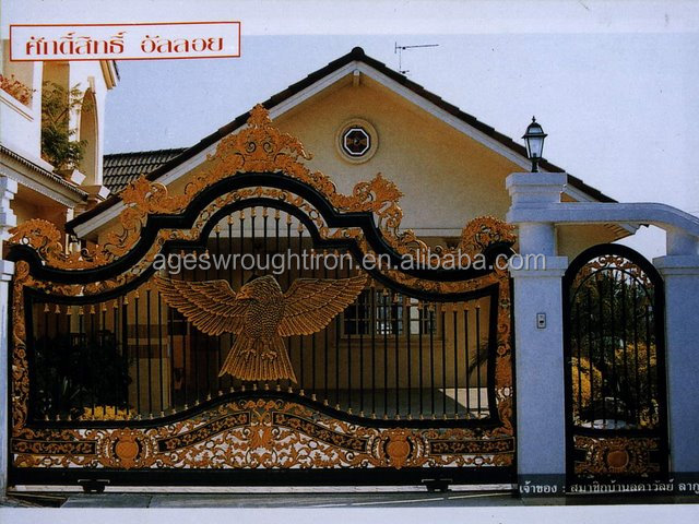 New House Gate Design World Sliding Gate Sheet And Iron Gate