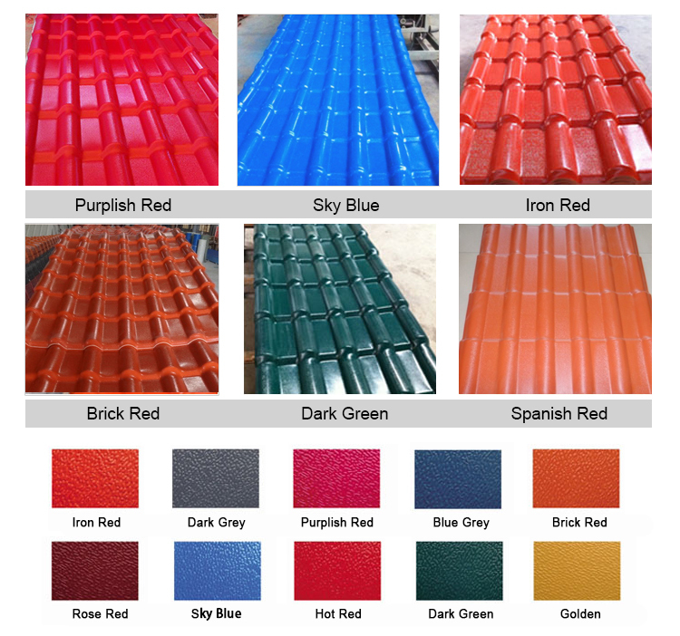 Synthetic resin roof tile synthetic spanish roof tile for Names of roofing materials