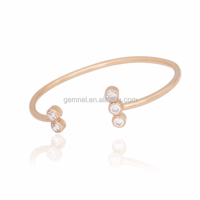 plated designer bracelet pin pinterest style bangle gold fashion