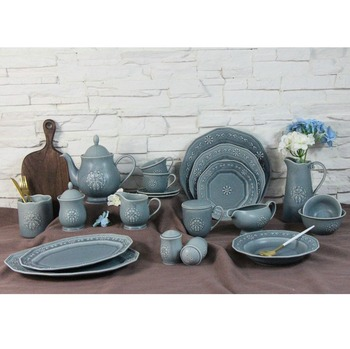 Wholesale dinnerware germany colorful fine porcelain dinner set