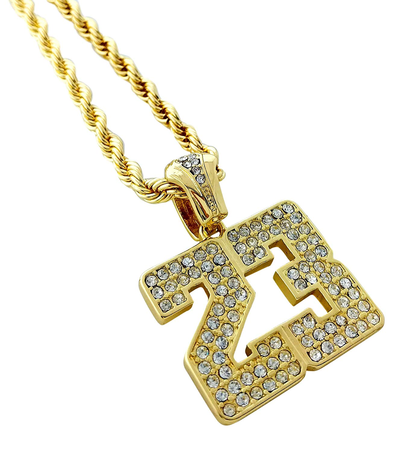 Africa Map New Iced Out Pendant /& 30 Inch 10mm Cuban Link Necklace Medusa Design