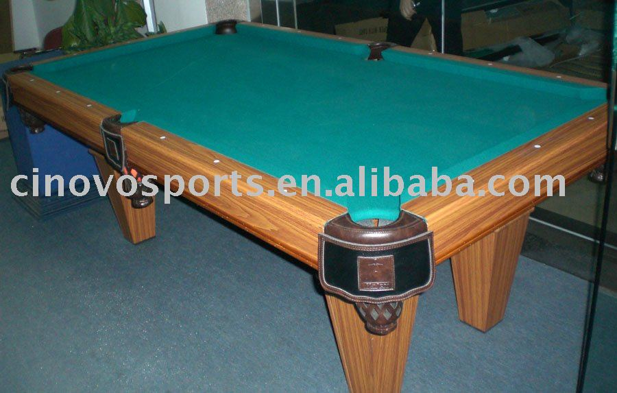 Salle manger table de billard pare chocs table de for Billard salle a manger