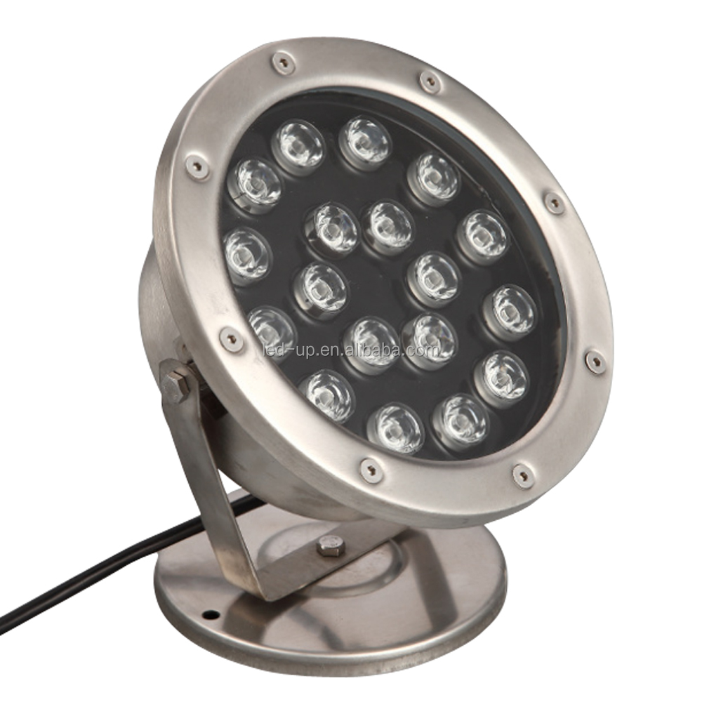 15W 18W 12V Waterproof IP68 Fountain Swimming Pool Led Underwater Light