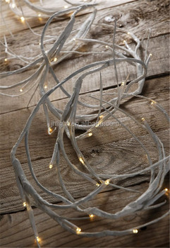 White Branch Led Garland Twig Lights