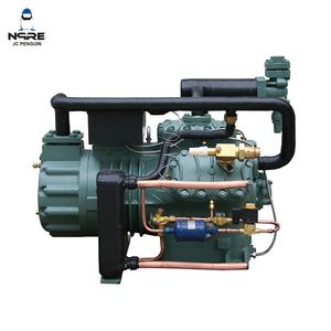 30HP High precise Quick Freezing two stage piston refrigeration compressor