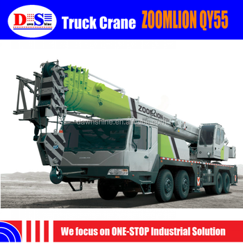 New Chinese Mobile Crane 55 Tons - Truck Crane Zoomlion Truck ...