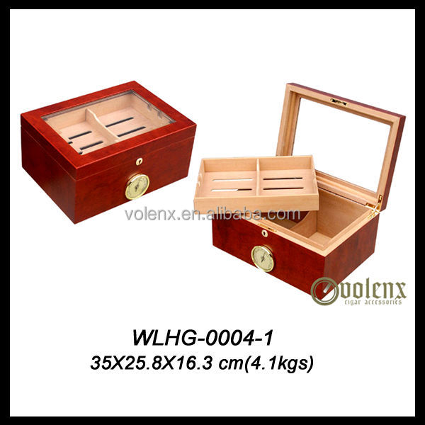 Shenzhen Wooden Cigar Cabinet/Travel Cigar Humidor Box(SGS&BV)