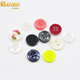 wholesale custom colorful resin 4 hole button for children clothing