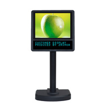 all in one pos system with USB port 8 inch screen monitor VFD customer display
