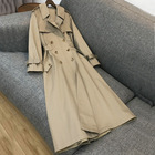 Autumn and Winter Women Trench coats plus size waterproof raincoats