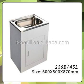 Australia 304 Stainless Steel Laundry Sink Cabinet Combo 236b ...