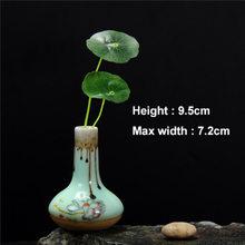 YeFine новинка, подарок, маленькие цветочные вазы, керамические, домашний декор, мини-ваза для цветов, для офисного стола, аксессуары, фарфоровы...(Китай)