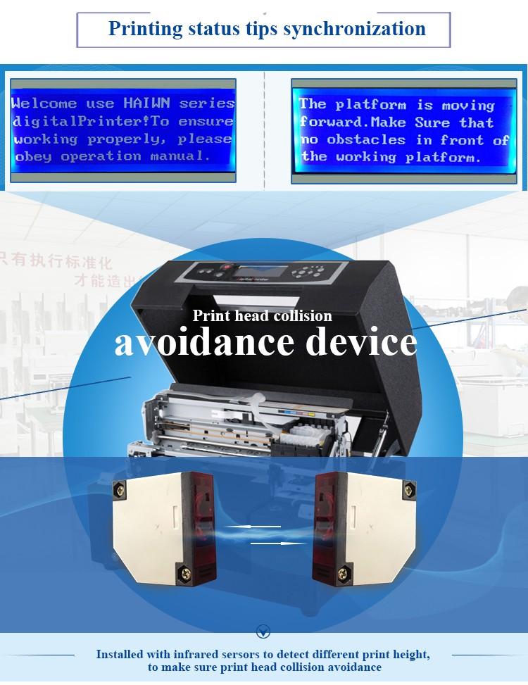 A4 format smart Wedding Card Printer eco solvent Printing Machine ...