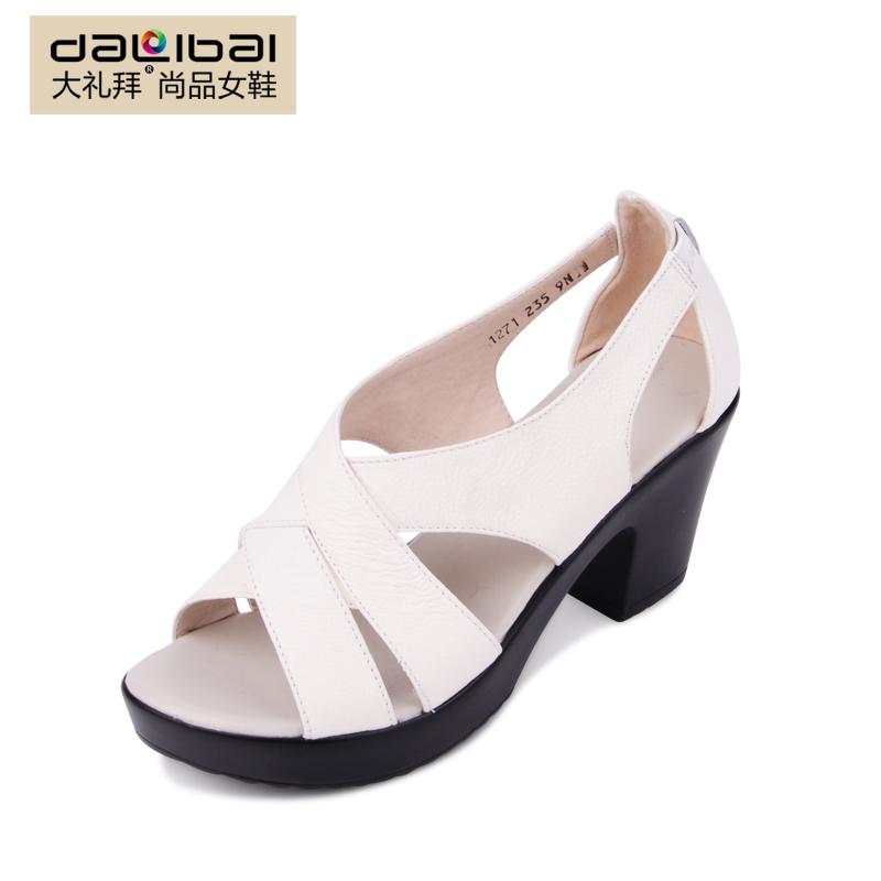 black and white platform shoes fashion sandals