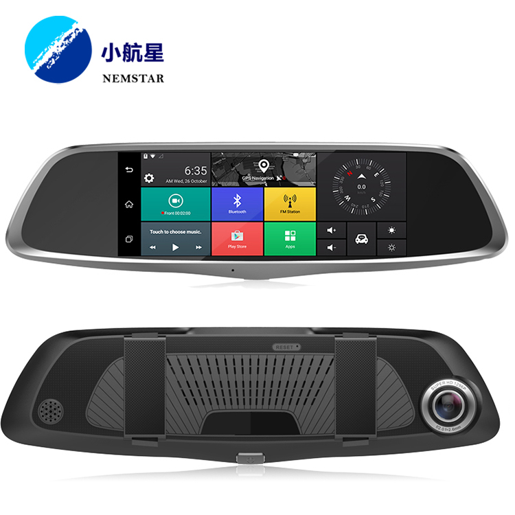 "4g Smart Car DVR, Specchio Retrovisore Dash Cam Car Registratore di Guida di 9.88 ""Android"