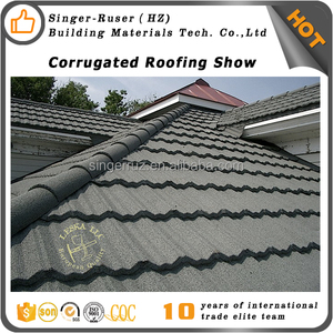 Building material roofing tile stone coated ridge cap, flat board roofing tile