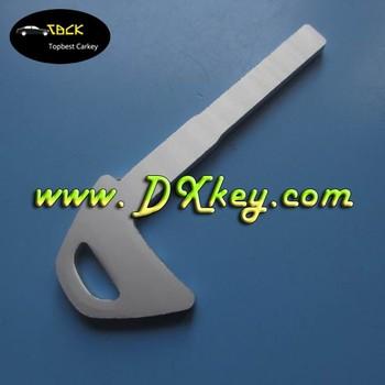 Spare Key For Volvo Car Key Blanks Emergency Key Blade Aluminium
