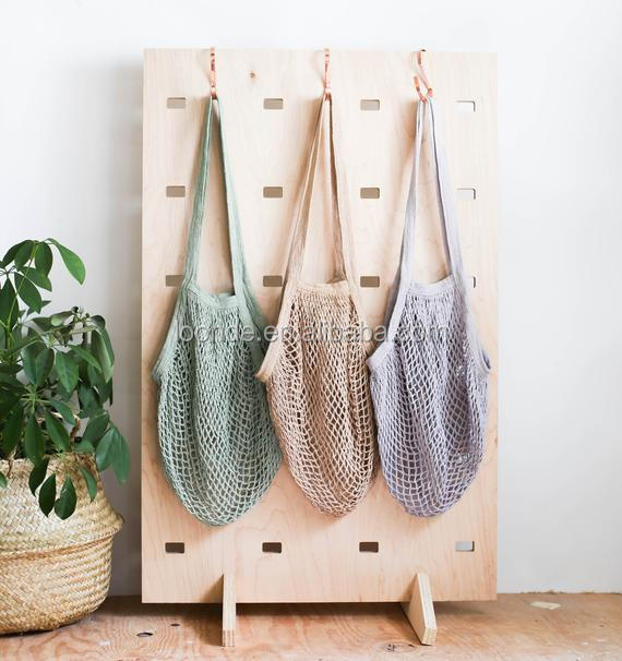 Fishnet String Crochet Tote Bag