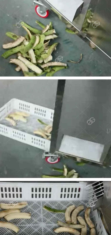 GELGOOG Plantain Peeler Green Banana Peeling Machine 3