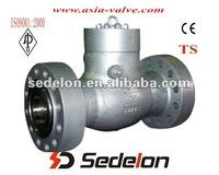 API cast steel swing check valve BB