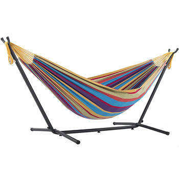 Dropshipping  Garden Camping Stand Hammock With Support Heavy Duty Steel Frame