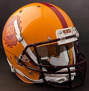 ARIZONA STATE SUN DEVILS 2008 Schutt AiR XP Authentic GAMEDAY Football Helmet ASU