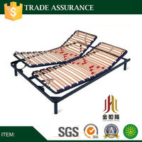 Customize dimension adjustable bed frame support for queen