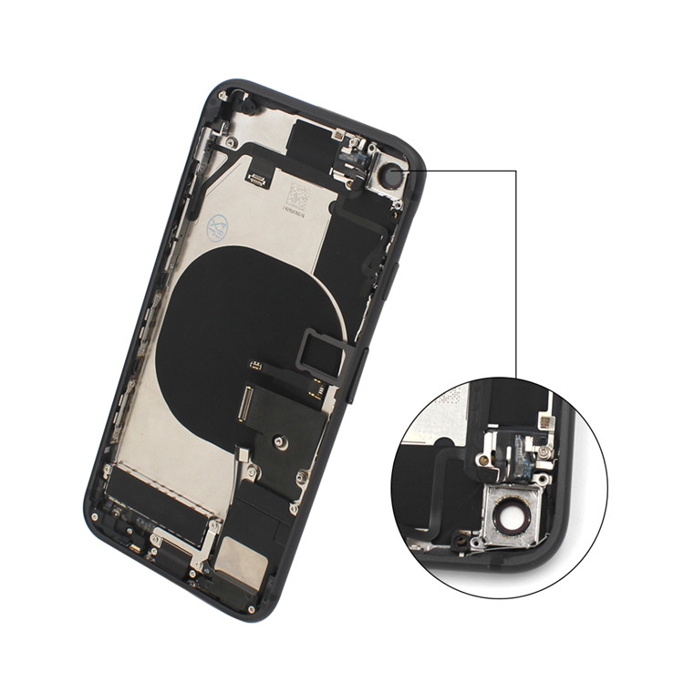 Full Housing Back Battery Cover Middle Frame Metal Replacement Part for iPhone X