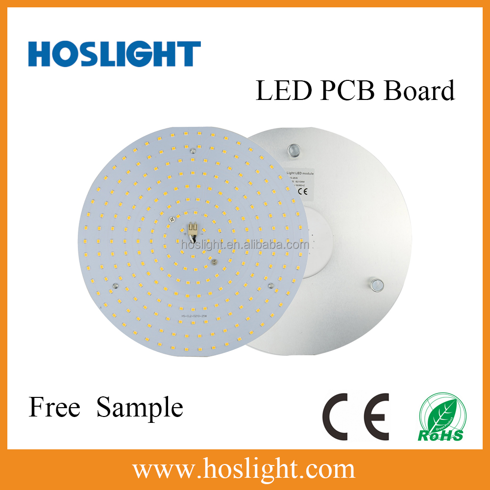 Very easy installed led round panel light 25W LED PCB Board with Magnet