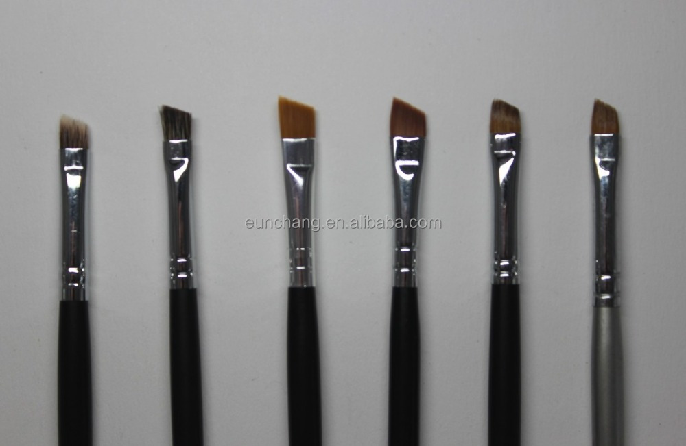 Hot selling professional make up brush angeled and eyeshadow brush