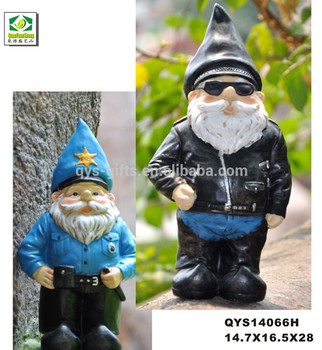 Cheap Police Garden Gnomes For Outdooor Yard Decoration Buy