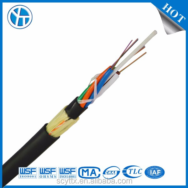 OEM/ODM all dielectric self-supporting ADSS aerial fiber cable