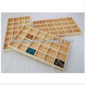 Stackable Wood Jewelry Organizer Tray Showcase Buy Jewelry Tray