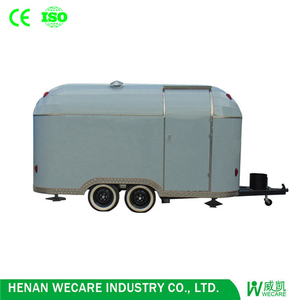 Available After-sales Service Provided High Quality Truck Mobile Food Trailer