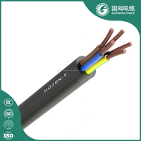 450/750V Low Smoke Zero Halogen Rubber Cable Manufacturer In China H07ZZ-F