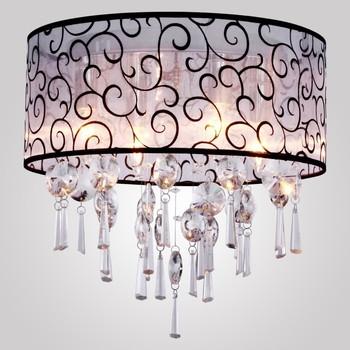 Overstock Crystal Chandelier,Drum Flush Mount Ceiling Light ...