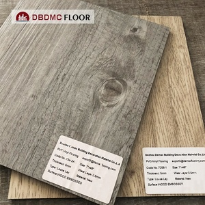 China Made Best quality click system vinyl pvc flooring