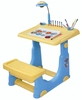 High Quality kids Learning Table With Drawing Board