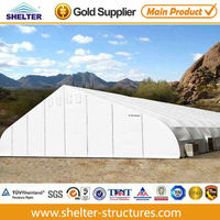 Cold weather tents with cold resistant pvc fabric