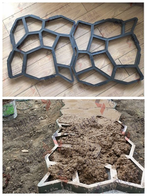 Good Diy Your Garden And Pave Way Molds - Buy Plastic Pathway Molds,Walkway  Concrete Paving Mould,Diy Garden Pathway Pavement Mold Product on