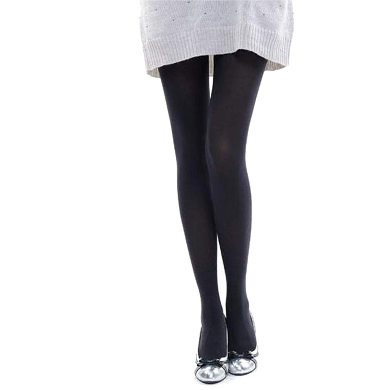 fa283d915 Get Quotations · Women Socks, Hunzed Women Burnish Opaque Socks Casual  Tights Candy Color Socks Leggings Tights Trample